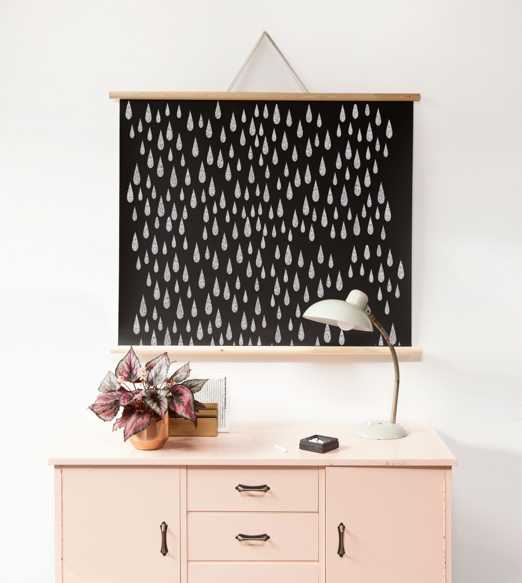 poster magn tique avec cadre tableau noir. Black Bedroom Furniture Sets. Home Design Ideas