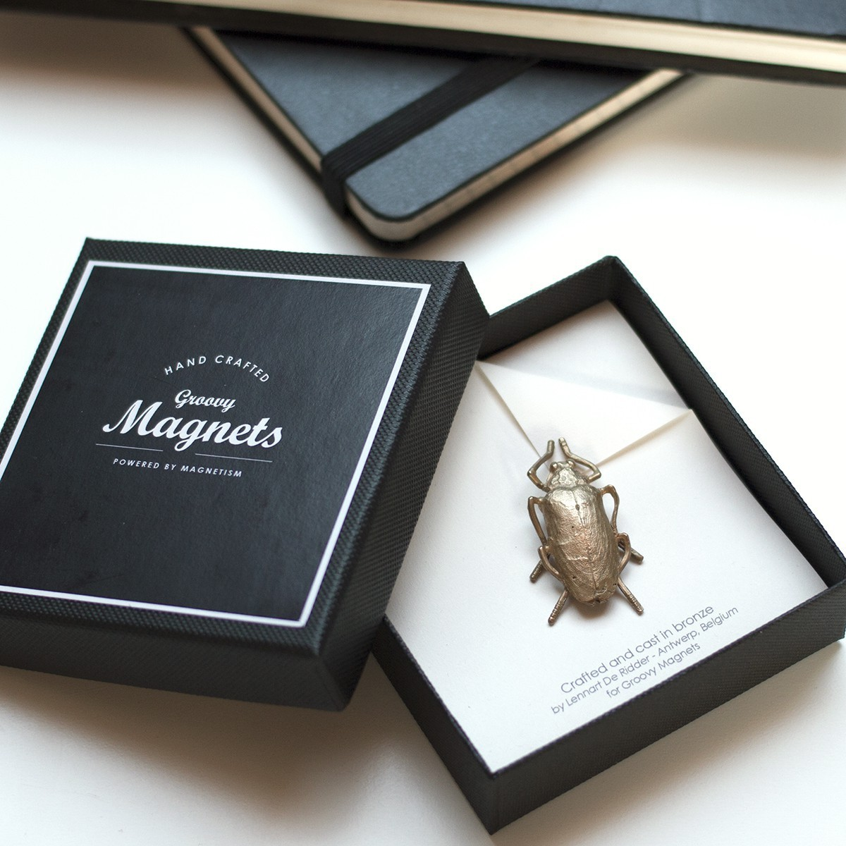 Indie Beetle, perfect match between design and craftsmanship, by Groovy Magnets